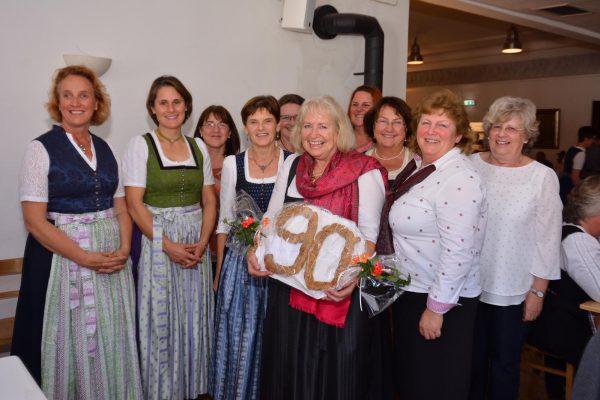 90. Jubiläum der Kfd Ostermünchen
