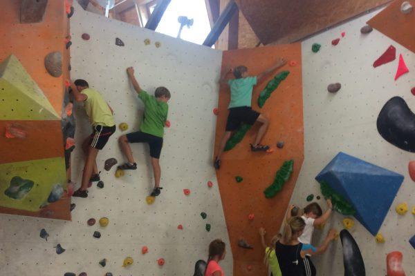 Ferienprogramm Kletterhalle